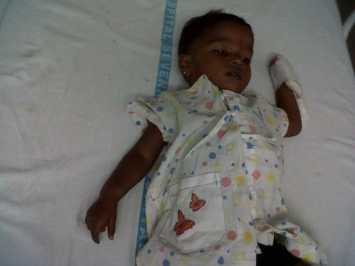 Bhoomi After a Open Heart Surgery