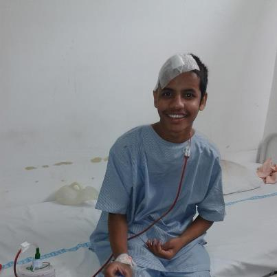 Helped Shravan to undergo a Brain Surgery after a Road Accident.