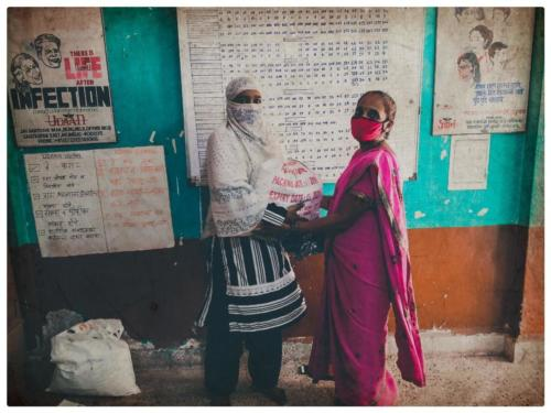 600 rations kits delivered to HIV positive patients in Panvel