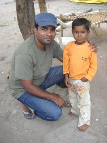 Danny with Sumeet