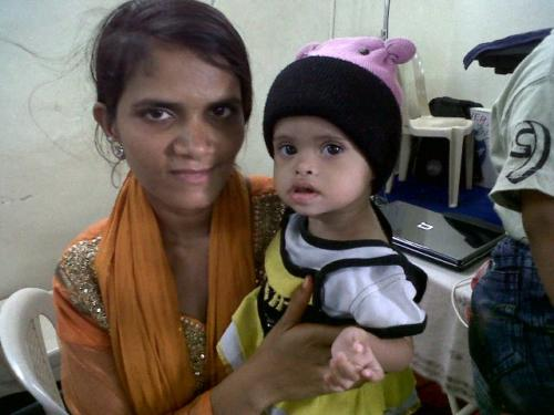 Helped Mahima a Two Year Old child from a village in Karmad - Maharashtra was suffering from Heart Disease.