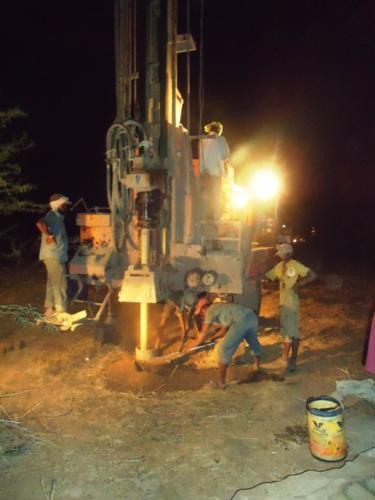 Drilling of Bore-Well 3