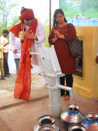 Inaugrating the Borewell