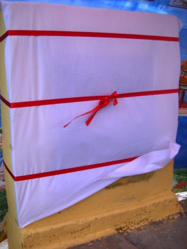 Plaque Wrapped