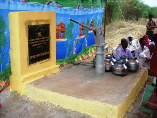 Plaque and Borewell