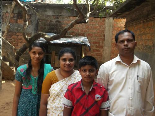 Medical Help (Thyroid) to the Ponnachan Family from Calicut - Kerala